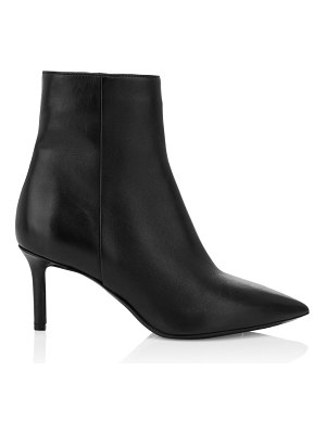 Aquatalia mackenzie leather ankle boots