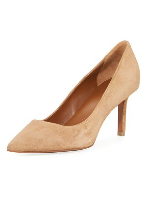 Aquatalia Melina Suede 50mm Pump