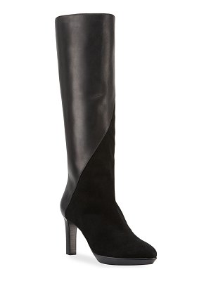 Aquatalia Rayne Mixed Leather Boots