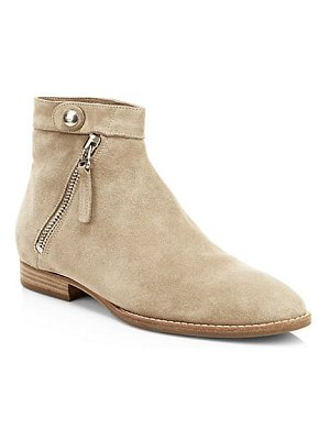 Aquatalia rose suede booties