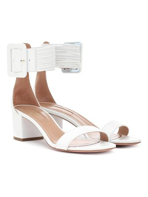 Aquazzura Casablanca 50 leather sandals