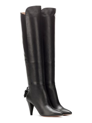 Aquazzura knee-high leather boots