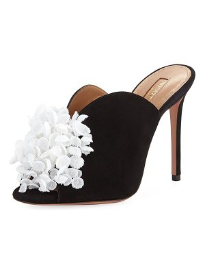 Aquazzura Lily Of The Valley Slide Mule