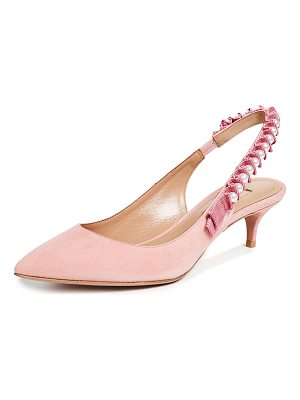 Aquazzura love story 45 sling pumps