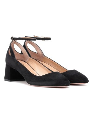 Aquazzura Rivoli 50 suede pumps