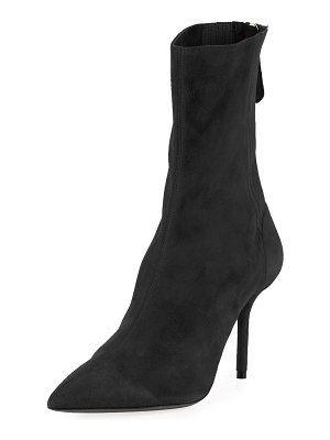 Aquazzura Saint Honore 85mm Pleated Bootie