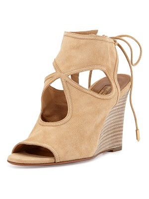 Aquazzura Sexy Thing Wedge Sandal