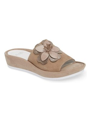 ara thea wedge slide sandal