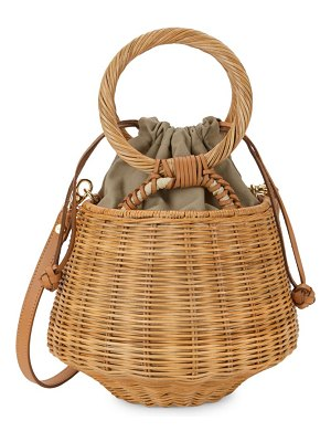 ARANAZ Winslow Woven Bucket Bag