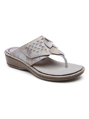 Aravon cambridge thong sandal
