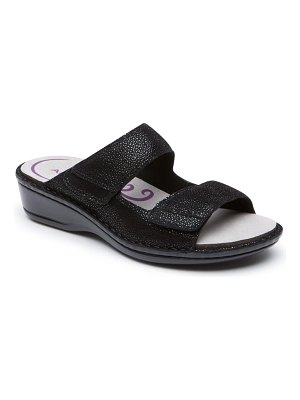 Aravon cambridge two strap slide sandal