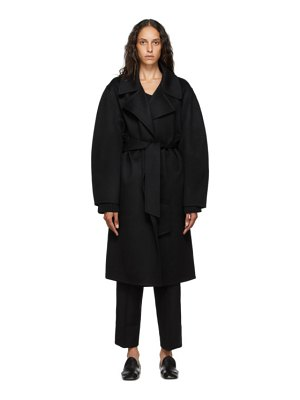 Arch The cashmere and silk wrap coat