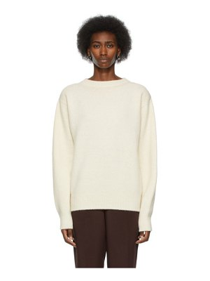 Arch The off-white cashmere sweater