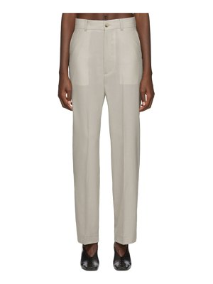 Arch The straight trousers