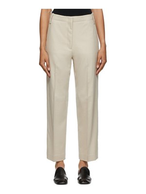 Arch The wool trousers