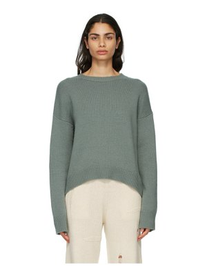 Arch4 green cashmere knightsbridge sweater