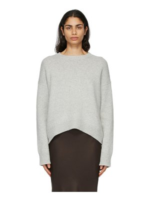 Arch4 grey cashmere knightsbridge sweater