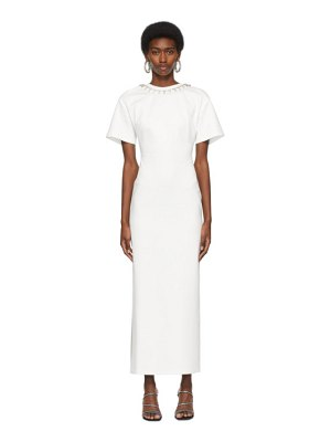 AREA crystal t-shirt gown