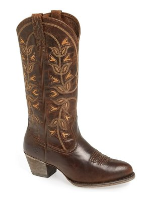 Ariat 'desert holly' embroidered western boot