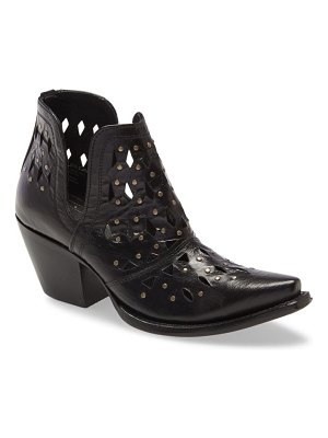 Ariat dixon perforated studded bootie