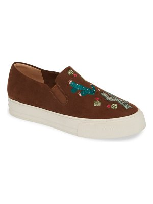 Ariat isabella embroidered slip-on sneaker