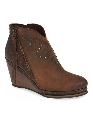 Ariat stax studded wedge bootie