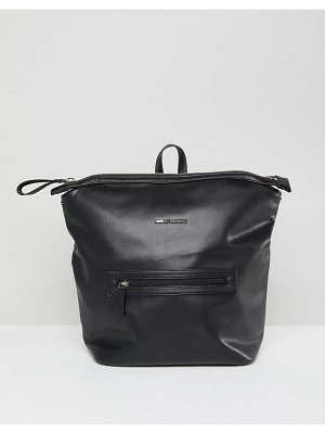 Armani Exchange Black Minimal Backpack