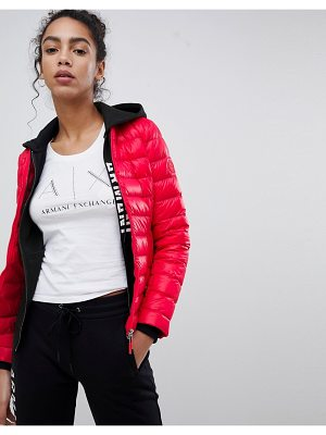 Armani Exchange Fitted Downs Padded Jacket