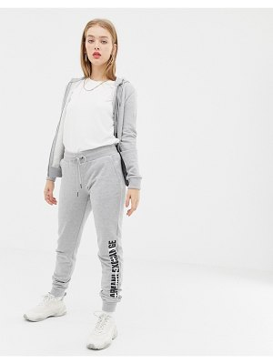 Armani Exchange jogger with crossed out logo