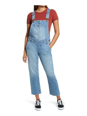 Articles of Society straight leg crop overalls