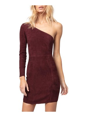 AS by DF Chianti Stretch Suede Dress