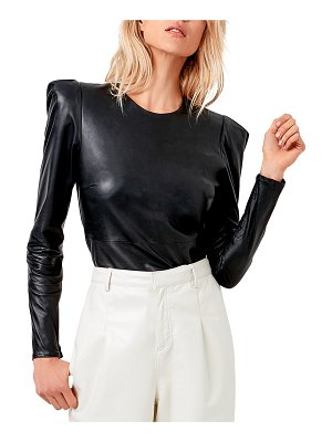 AS by DF Jenn Recycled Leather Blouse
