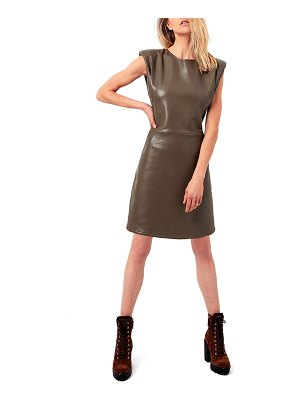AS by DF Port Elizabeth Recycled Leather Dress