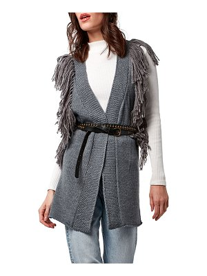 AS by DF Shag Luxe Vest