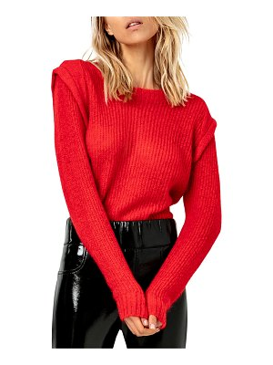 AS by DF The Denise Sweater with Shoulder Detail