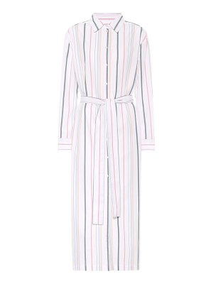 Asceno Striped cotton shirt dress