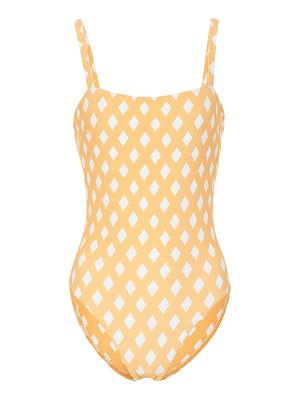 Asceno Triangle Check swimsuit