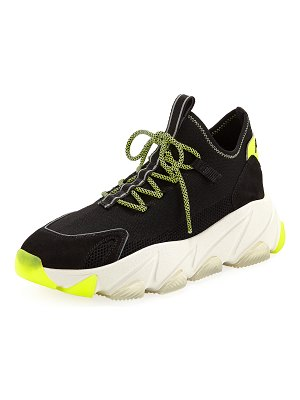 Ash Excape Lace-Up Sock Sneakers