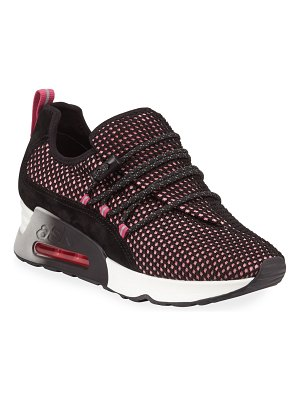 Ash Lenny Cushioned Fabric Sneakers