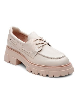 Ash link leather loafer
