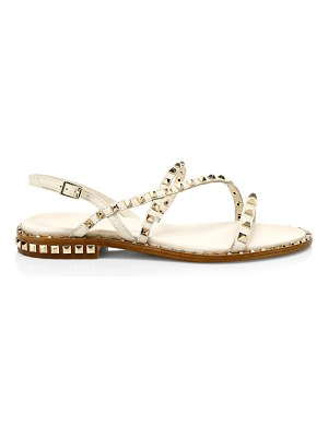Ash peace studded leather gladiator sandals