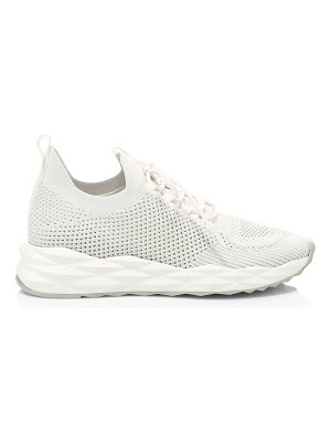 Ash skate perforated lace-up sneakers