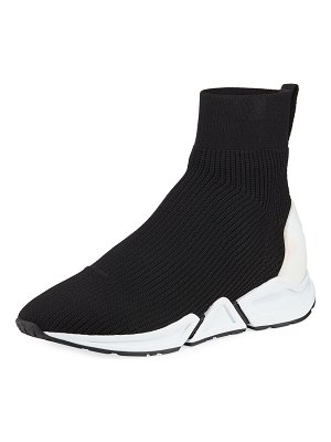 Ash Thonder Stretch-Knit Bootie Sneakers
