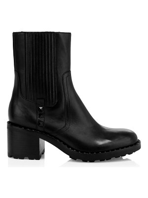 Ash xox studded leather ankle boots