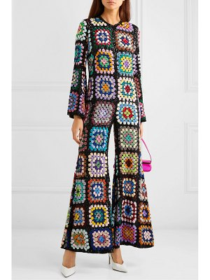 Ashish sequined georgette jumpsuit
