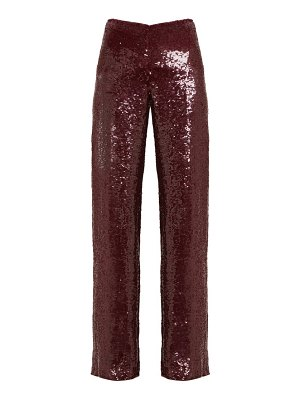 Ashish sequinned high rise trousers