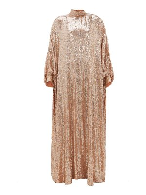 Ashish sheela high-neck sequinned-georgette tent dress