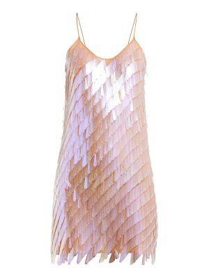 Ashish teardrop sequinned mini dress