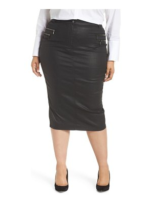 ASHLEY GRAHAM X MARINA RINALDI capraia pencil skirt
