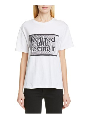 Ashley Williams retired and loving it tee